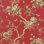 Ralph Lauren Ashfield Floral Balmoral Red PRL027/09