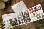 Flamant handgeschilderde kleurenkaart