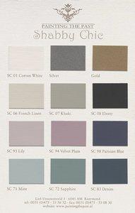 Painting the Past kleurenkaart Shabby Chic