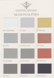 Painting the Past kleurenkaart Seasonalities