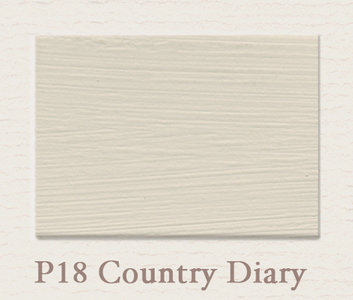 Painting the Past Krijtlak Eggshell Country Diary P18