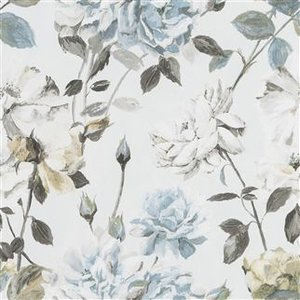 Designers Guild Behang.Couture Rose Graphite Designers Guild Behang