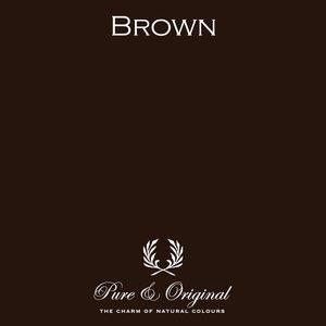 Pure & Original Wallprim Brown