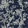 MARLOWE FLORAL - PRUSSIAN BLUE- Ralph Lauren Home wallpaper PRL048/04