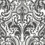 GWYNNE DAMASK - CHARCOAL Ralph Lauren Home wallpaper PRL055/06